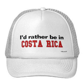 I'd Rather Be In Costa Rica Cap