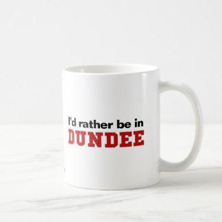 I'd Rather Be In Dundee Basic White Mug