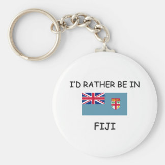 I'd rather be in Fiji Key Ring