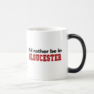 I'd Rather Be In Gloucester Magic Mug