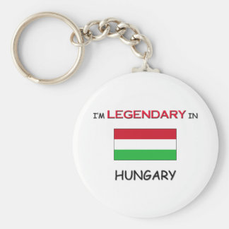 I'd Rather Be In HUNGARY Key Ring