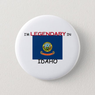 I'd Rather Be In IDAHO 6 Cm Round Badge
