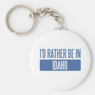 I'd rather be in Idaho Key Ring