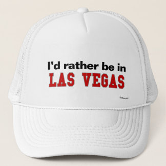 I'd Rather Be In Las Vegas Trucker Hat