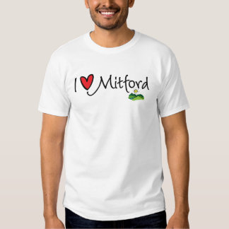 I'd rather be in Mitford--I Love Mitford Tees