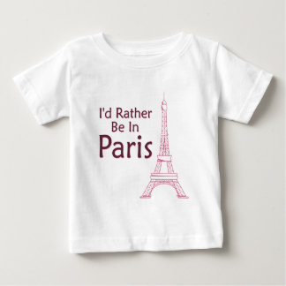 I'd Rather Be In Paris Tshirts
