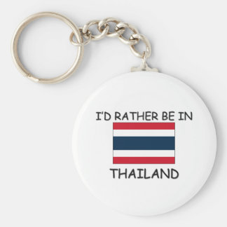I'd rather be in Thailand Key Ring