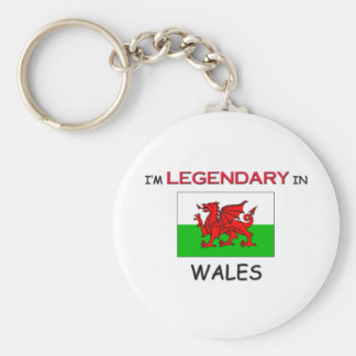 I'd Rather Be In WALES Key Chain