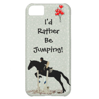 I'd Rather Be Jumping! Horse iPhone 5C Case