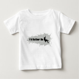 I'd Rather Be Mountain Climbing 1 Baby T-Shirt