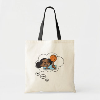 I'd rather be playing Basketball 3 Budget Tote Bag