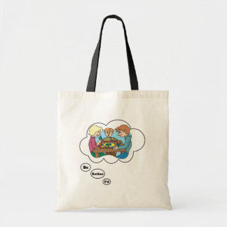 I'd rather be playing Board Games 6 Budget Tote Bag