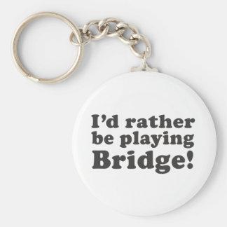 I'd Rather Be Playing Bridge! Key Ring