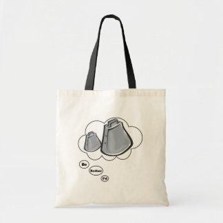 i'd rather be playing Cowbells Budget Tote Bag