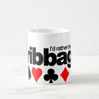 I'd Rather Be Playing Cribbage mug - choose style