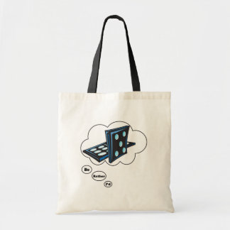 I'd rather be playing Dominos 2 Budget Tote Bag