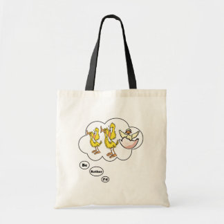 I'd rather be playing Duck Duck Goose Budget Tote Bag