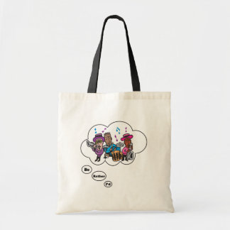 i'd rather be playing Jazz 5 Budget Tote Bag