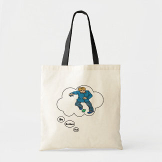 I'd rather be playing Kick the Can 5 Budget Tote Bag