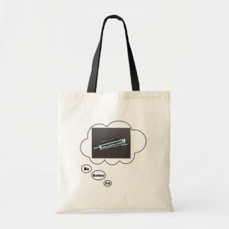 i'd rather be playing Oboe 2 Budget Tote Bag