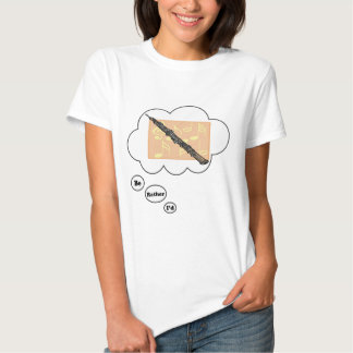 i'd rather be playing Oboe 3 T-shirt