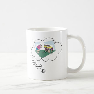 I'd rather be playing Rugby Coffee Mug