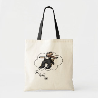 i'd rather be playing Violin 2 Budget Tote Bag