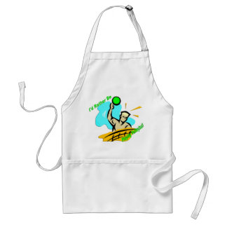 I'd Rather Be Playing Volleyball Standard Apron