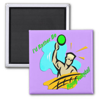 I'd Rather Be Playing Volleyball Refrigerator Magnets