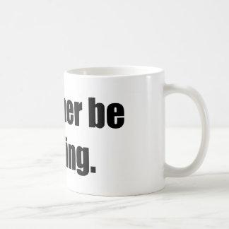 I'd Rather Be Praying Basic White Mug