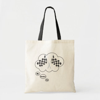 I'd rather be Racing 8 Canvas Bags