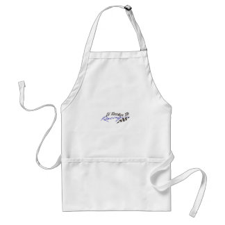 Id Rather Be Racing Standard Apron