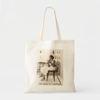 I'd Rather Be Reading - Bag