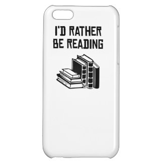 I'd Rather Be Reading iPhone 5C Cover