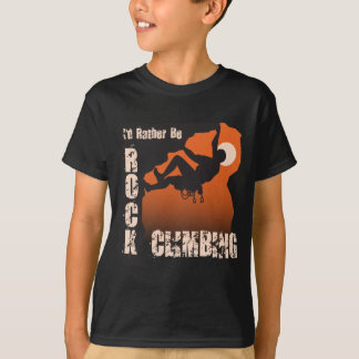 I'd Rather Be Rock Climbing - Guy T-Shirt