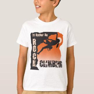 I'd Rather Be Rock Climbing T-Shirt Female
