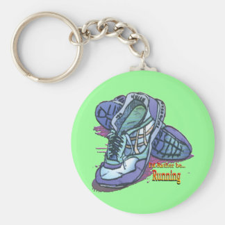 I'd Rather Be Running _ Sneakers Key Ring