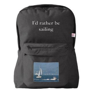 I'd Rather Be Sailing Backpack