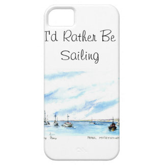 I'd Rather Be Sailing - Monterey California Barely There iPhone 5 Case