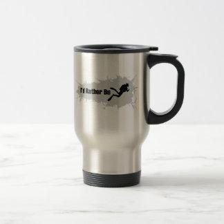 I'd Rather Be Scuba Diving Travel Mug