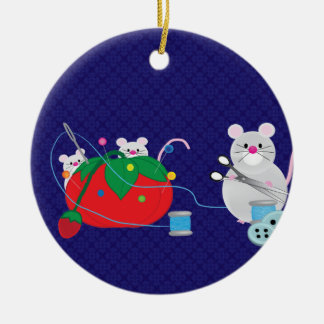 I'd Rather Be Sewing Christmas Ornament