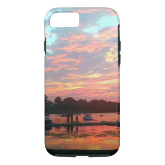 I'd Rather Be ...  Sunset at the Dock iPhone 8/7 Case