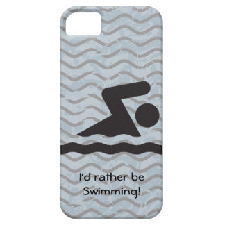 I'd rather be Swimming Design iPhone Casemate iPhone 5 Case