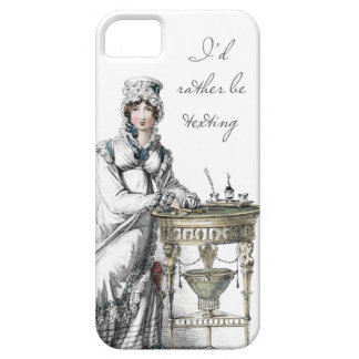 I'd Rather be Texting Regency Fashion Plate iPhone 5 Cover