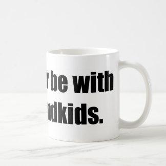 I'd Rather Be With My Grandkids Mug
