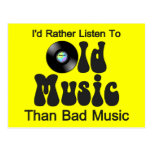 I'd Rather Listen to Old Music than Bad Music
