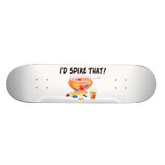I'd Spike That Punch Skate Board Deck