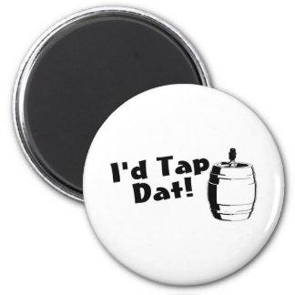 Id Tap Dat Beer Keg Magnet