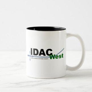IDAC West Coffee Cup Two-Tone Mug