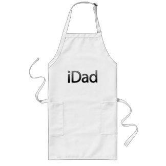 IDad Apron in gray design